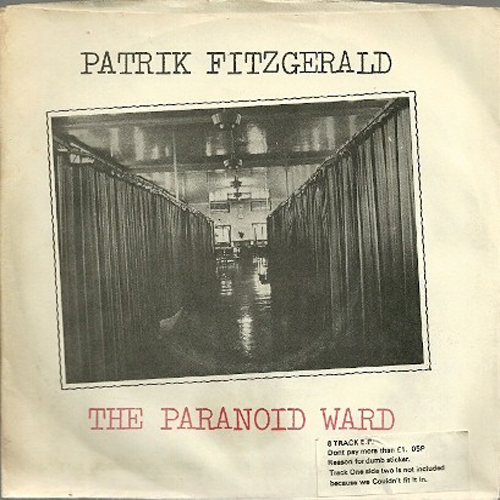 PATRIK FITZGERALD The Paranoid Ward LP