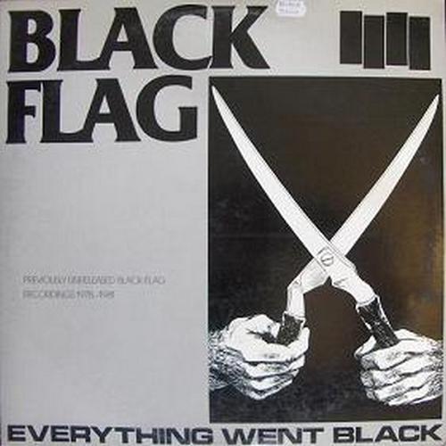BLACK FLAG Everything Went Black 2xLP